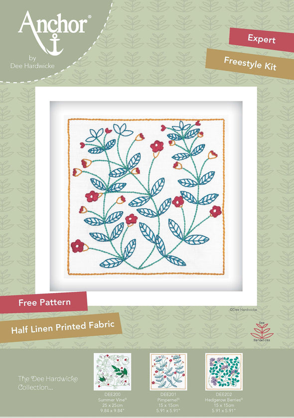 Pimpernel Embroidery Kit