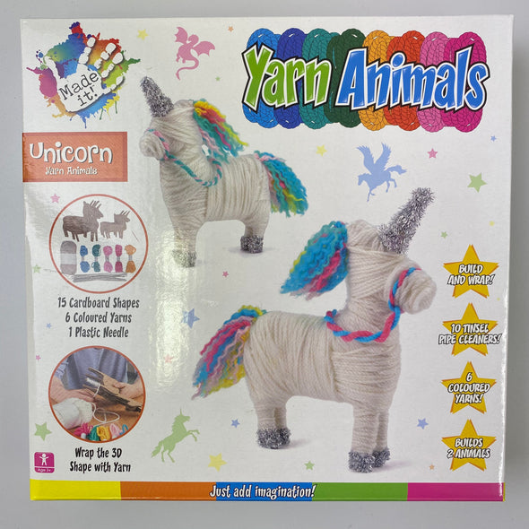 Yarn Animals Kit: Unicorn