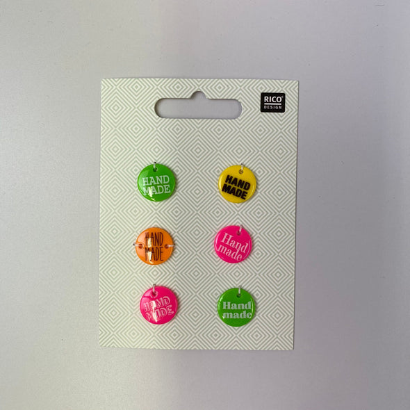 'Handmade' Button Tags
