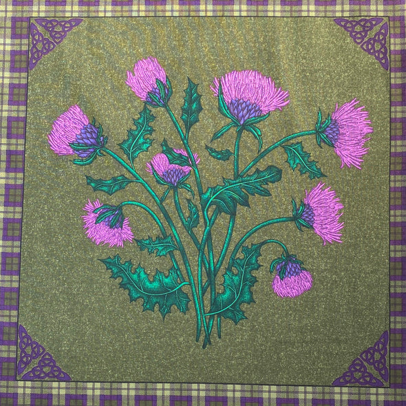 Highland Home Cushion Set - Printed Cotton Panel