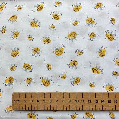 Bumble Bee - Cotton Print