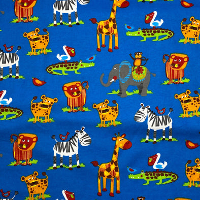 Fun Jungle Flannel - Cotton