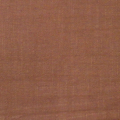 Chocolate Viscose Linen Slub