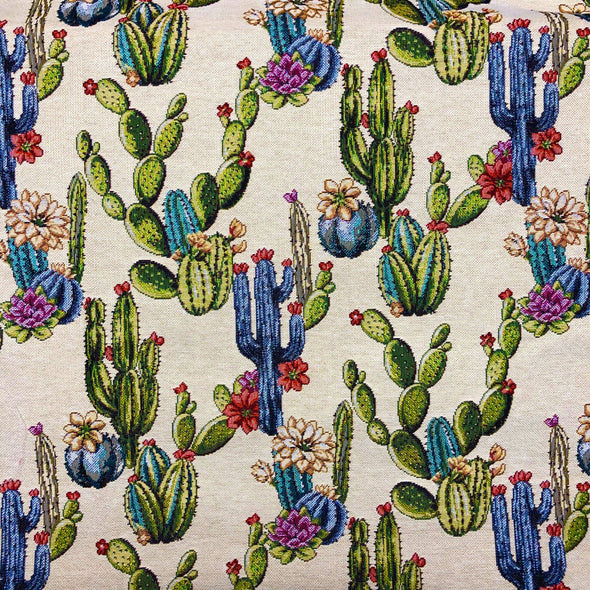 Cactus Woven Tapestry