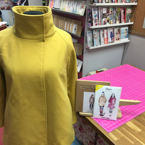 SEWING WEEKENDER - Coat Making with Jen Hogg and Victoria Nutt