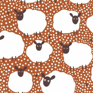 Sheep Cotton Jersey