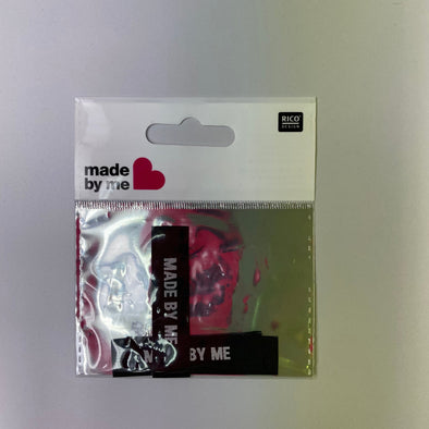 'Made by Me' Black Woven Labels: Pack of 3