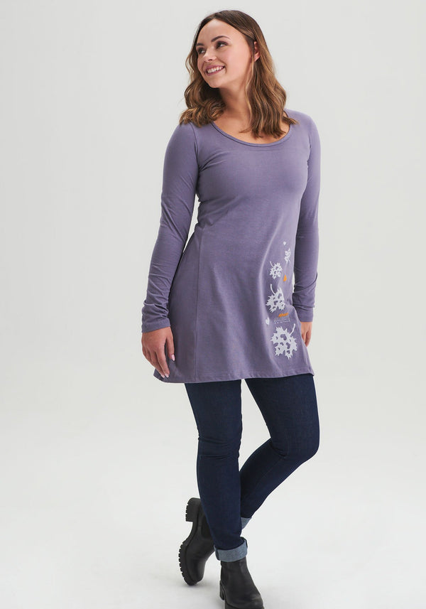 ANÉMONE - Gray Miracle Tunic