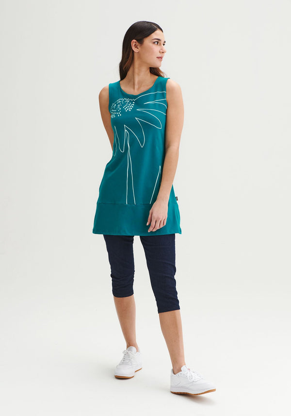 FOUGERE - Orchid green tunic
