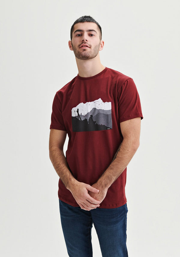 NOMAD - Red t-shirt