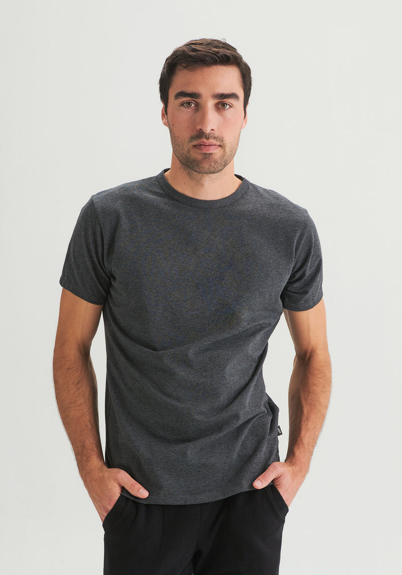 OÖM - Plain heather gray T-shirt