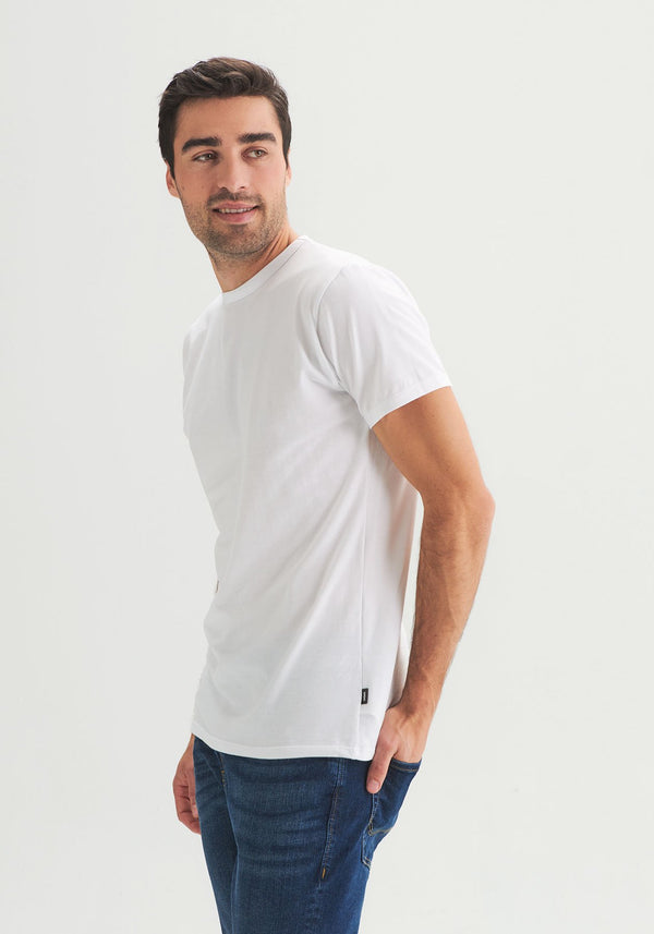 OÖM - White organic cotton T-shirt