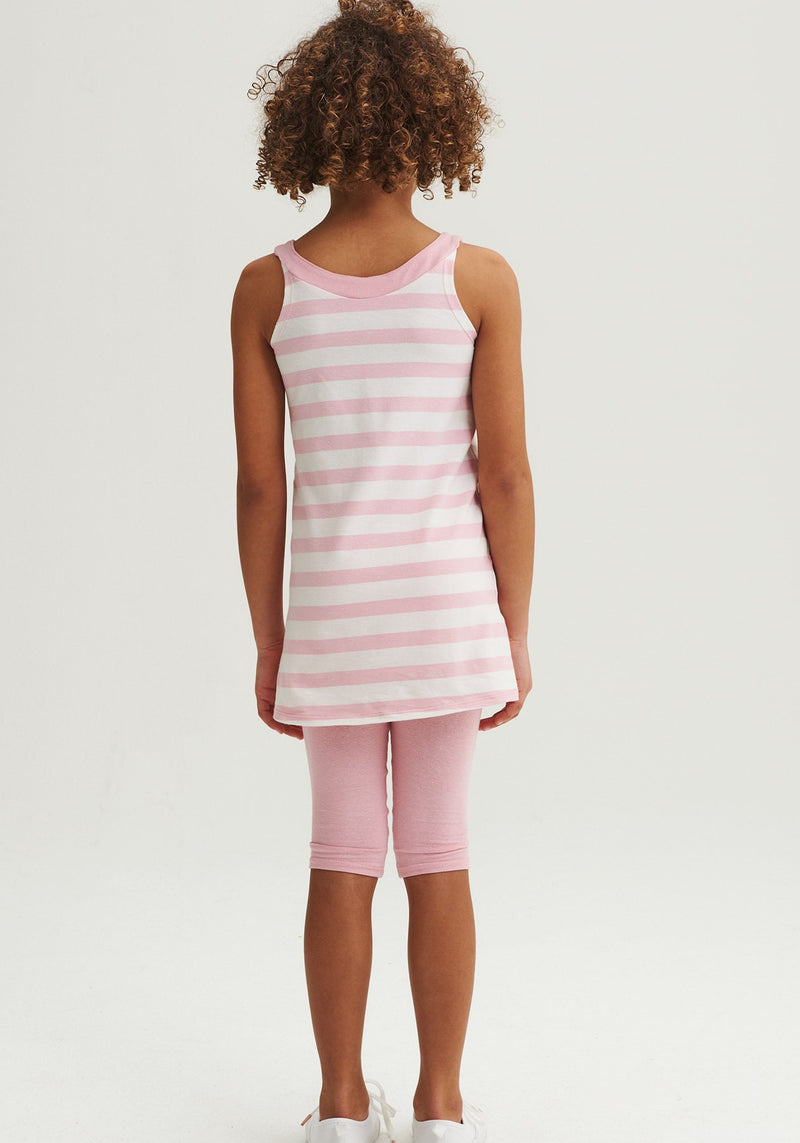 MELIA - Evolutive striped dress