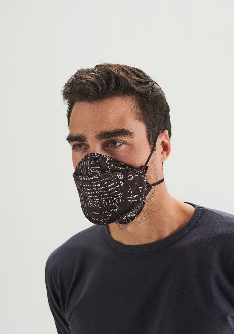 MASKS - Reusable fabric masks trio 1