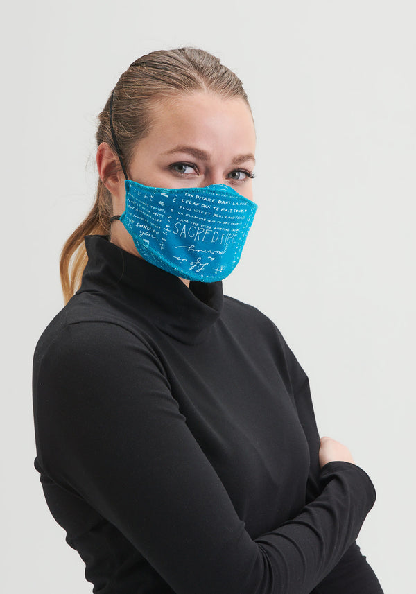 MASK - Reusable mask teal