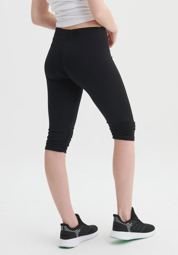 CORSAIRS - Black cropped leggings