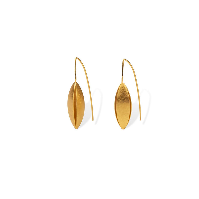 Sculptural Short Earrings