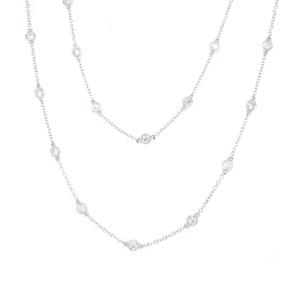 White Diamond Necklet