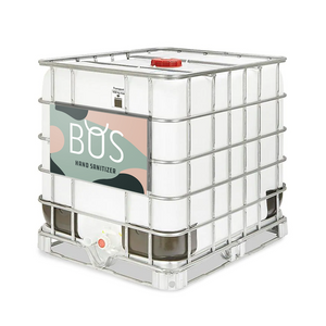 BOS Liquid Hand Sanitizer - 275 gallon tote