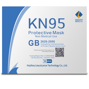 KN95 Protective Masks pack of 50