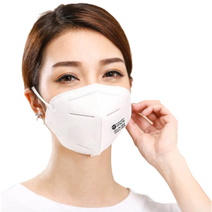 how to wear KN95 respirator mask