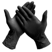Load image into Gallery viewer, Powder-free Nitrile Gloves - Black