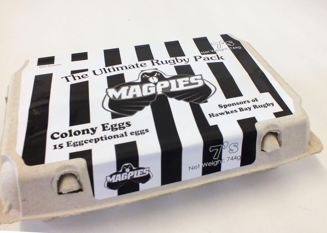 Magpies Size 7 15 Pack