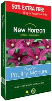 New Horizon Organic Poultry Manure