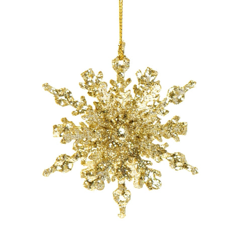3D sparkly snowflake
