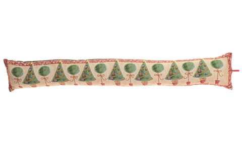 Tinsel tree draught excluder