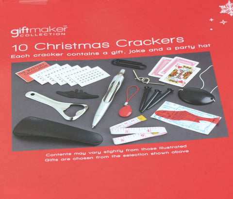 Holly Christmas crackers