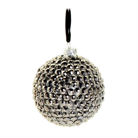 Silver gourd bauble