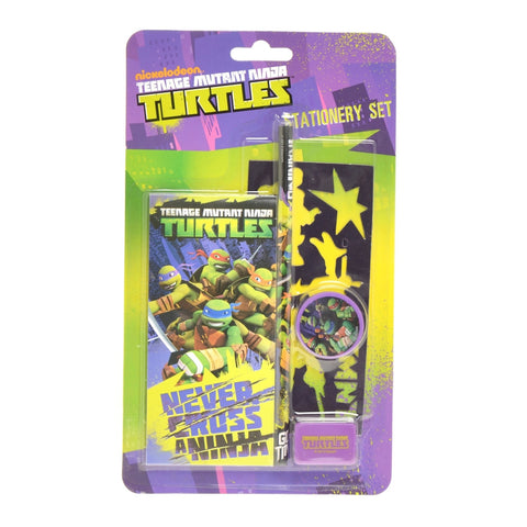 Turtles stationery set