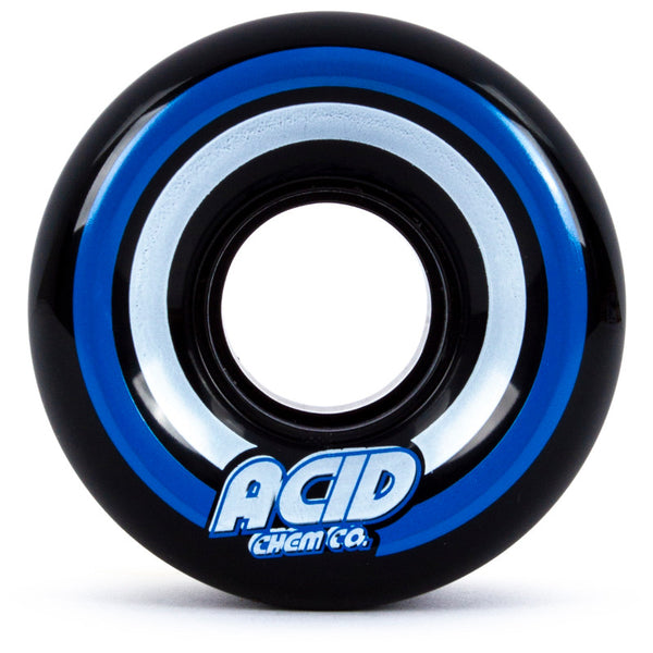 55mm 86a Acid Wheels Cruiser Pods Conicals - Black