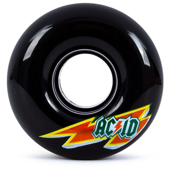 54mm 86a Acid Wheels Cruiser Skaterade - Black