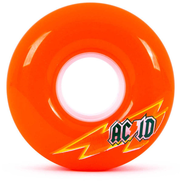 56mm 86a Acid Wheels Cruiser Skaterade - Orange