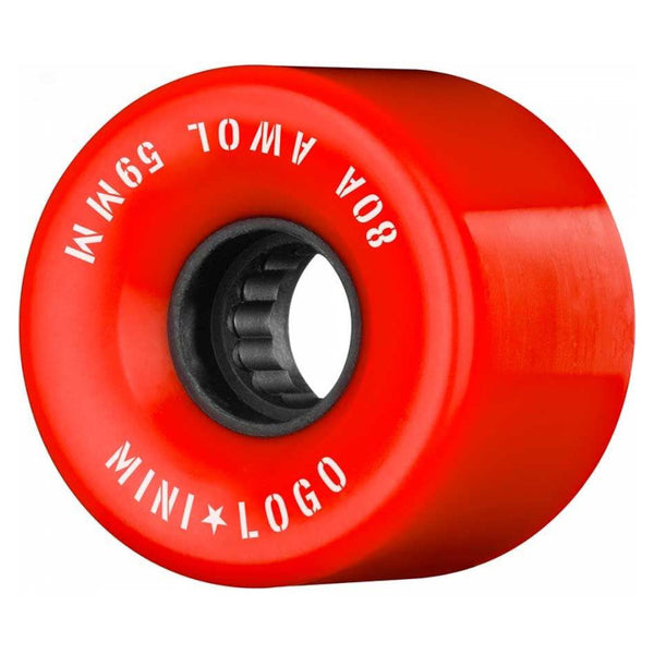59mm 80a Mini Logo Wheels A.W.O.L. Formula A-Cut - Rouge