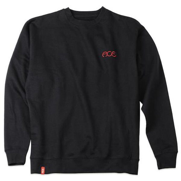 ACE Crewneck Hutch - Black