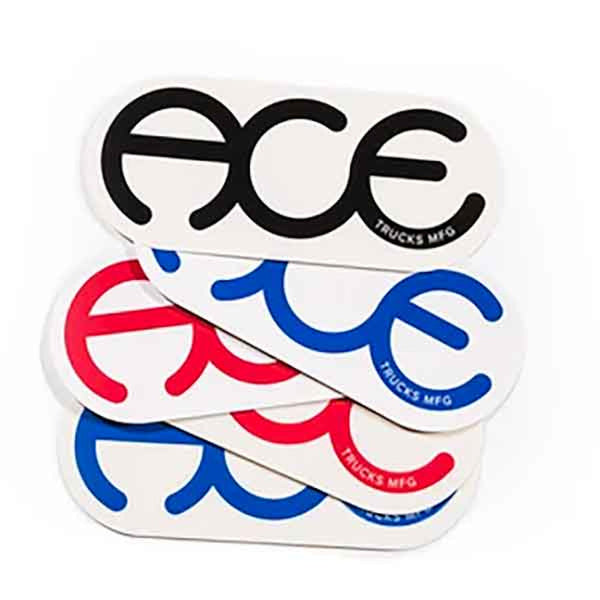 ACE Trucks Sticker Ring Logo - Medium
