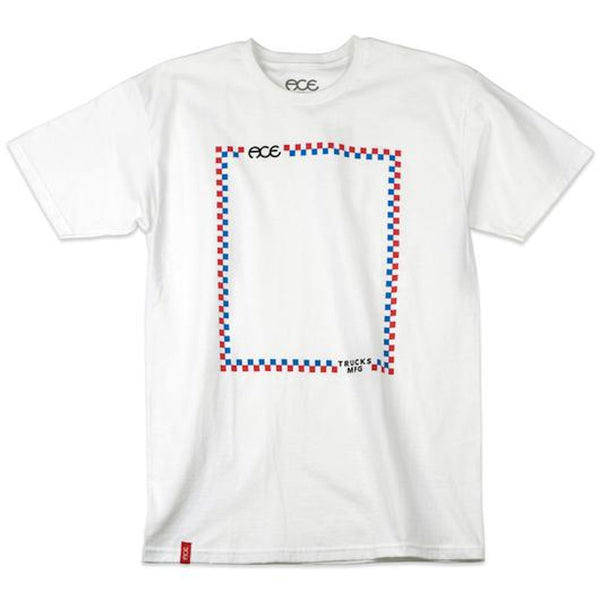 ACE T-Shirt Turndown - Blanc