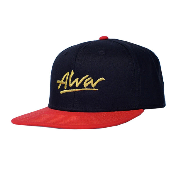 Alva Cap OG (Snapback) - Red And Black