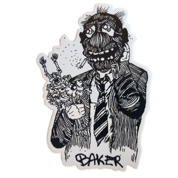 Baker Sticker Bouquet - Medium
