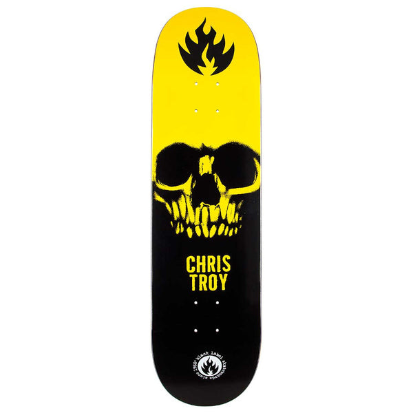 Black Label Deck Chris Troy Skull - 8.5