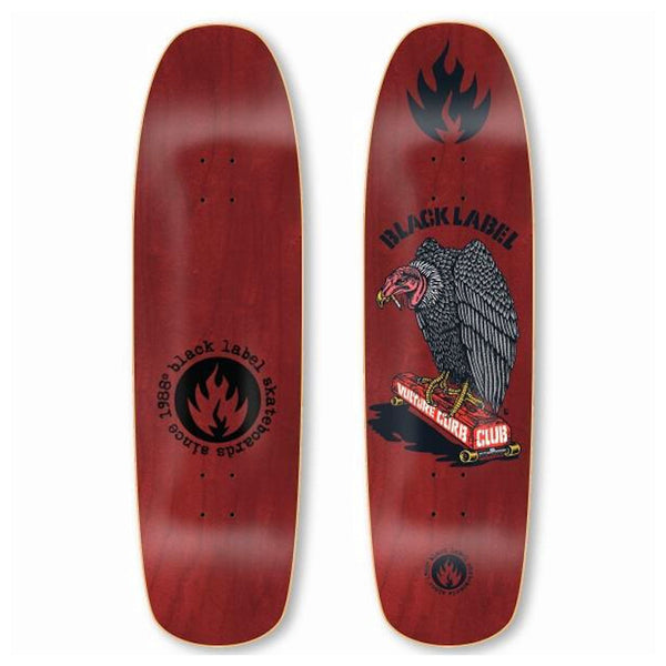 Black Label Deck Vulture Curb Club - 8.88
