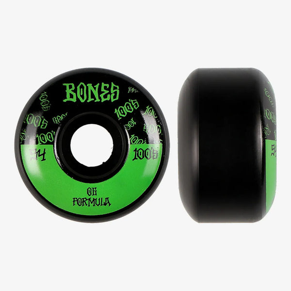 54mm 100a Bones Wheels 100'S Logo V4 Wides