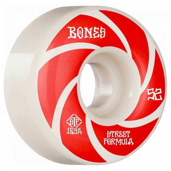 52mm 103a Bones Wheels Patterns V1 Standard STF