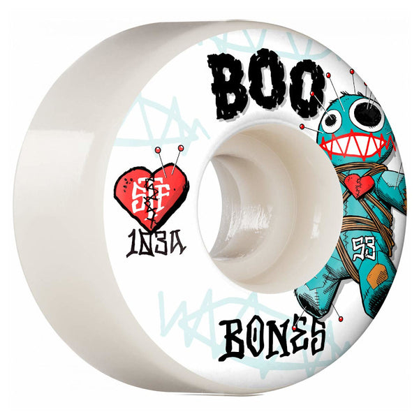 55mm 103a Bones Wheels Boo Voodoo V4 Wides STF