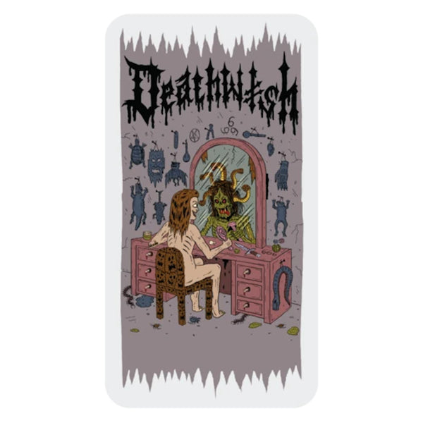 Deathwish Sticker Medusa - Large