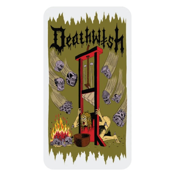 Deathwish Sticker Guillotine - Large