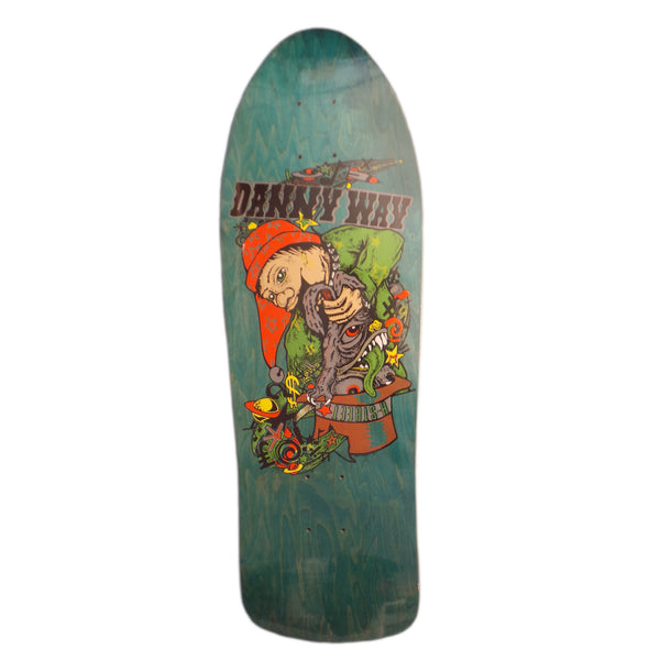 H-Street Deck Danny Way Way Rabbit In The Hat Limitée (Re-issue)